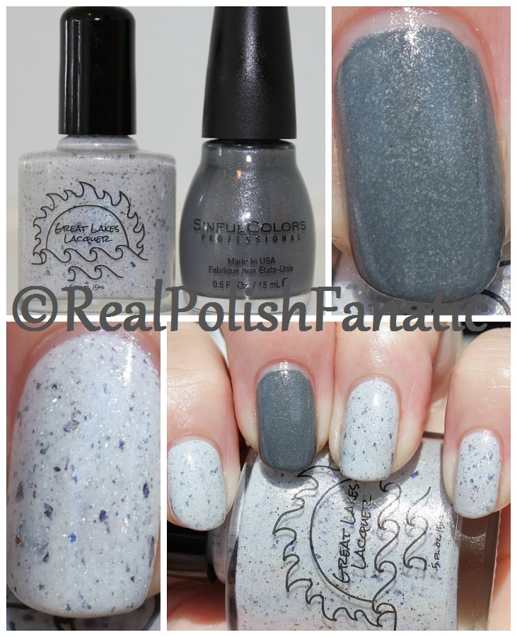 Great Lakes Lacquer - Seester Love // October 2016 HHC Custom & Sinful Colors - Where Oh Werewolf