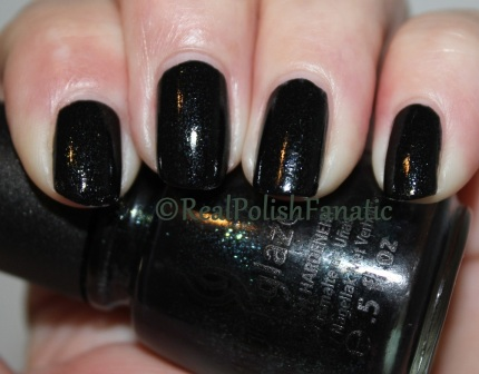 China Glaze - Smoke and Ashes // Spring 2012 Hunger Games Collection