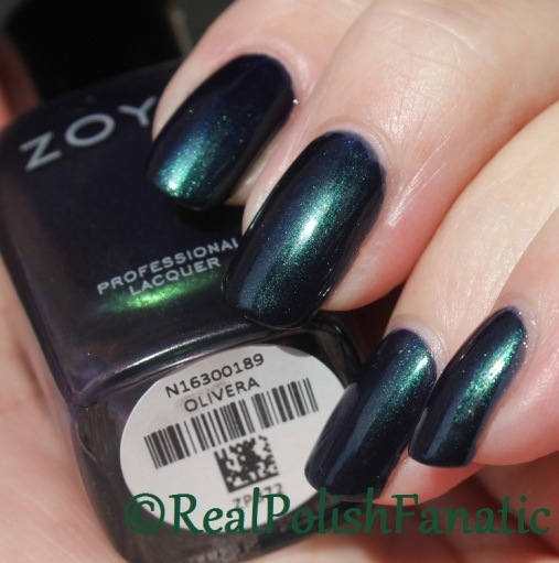 Zoya - Olivera // 2016 Enchanted Holiday Collection