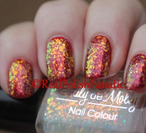 NCLA - Satin Sheets, Velvet Ropes // Emily de Molly - All the Feelings // China Glaze - Fairy Dust