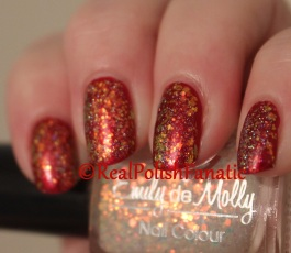 NCLA - Satin Sheets, Velvet Ropes // Emily de Molly - All the Feelings // China Glaze - Fairy Dust