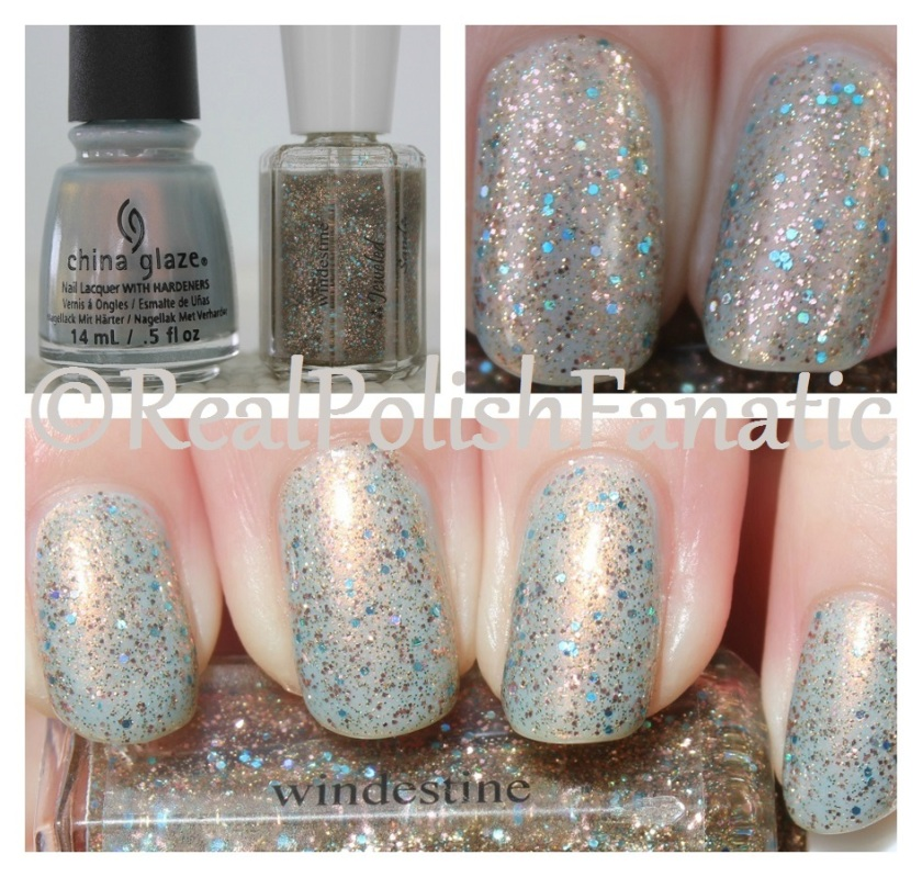 03-04-2017 CWindestine Jeweled Sand over China Glaze Pearl Jammin'
