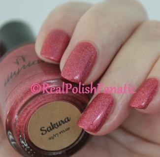 Illyrian Polish - Sakura // March 2017 For The Love Of Polish Box