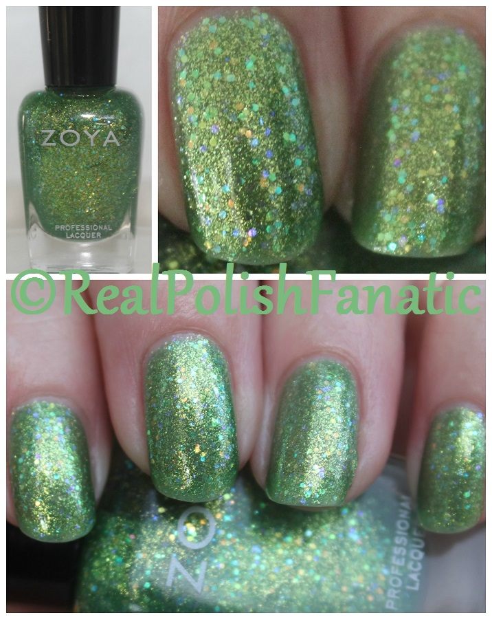 03-14-2017 Zoya - Staasi // Summer 2014 Bubbly Collection