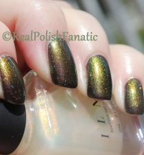ILNP The Magician over Tonic Polish Watcher's Woods