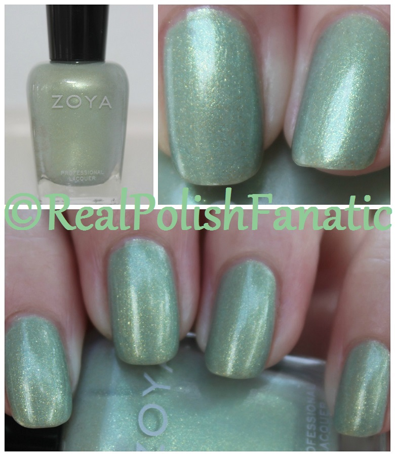 03-27-2017 Zoya - Lacey // Spring 2017 Charming Collection