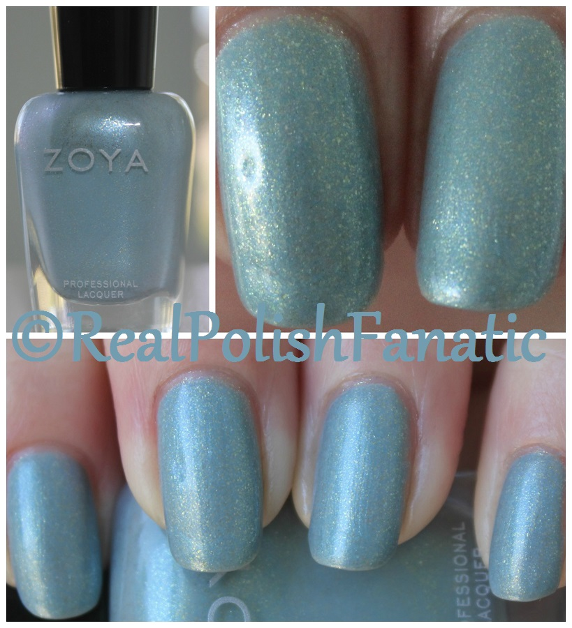 04-09-2017 Zoya - Amira // Spring 2017 Charming Collection -- RealPolishFanatic