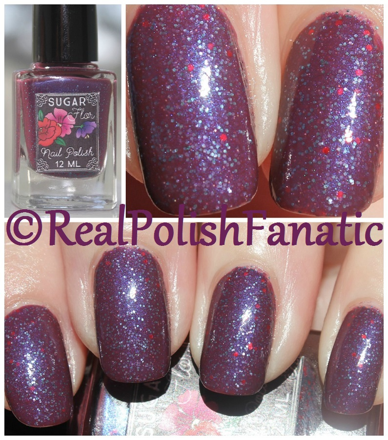 04-30-2017 Sugar Flor Boutique - Xenon // Spring 2017 Chemical Element Trio -- RealPolishFanatic