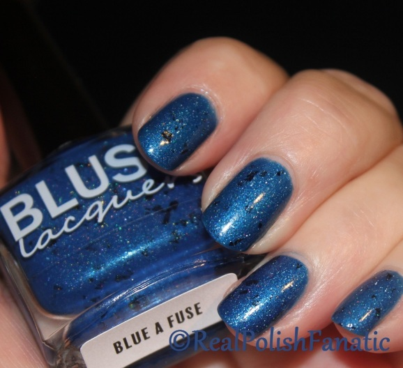 Blush Lacquer - Blue a Fuse // March 2017 The Color Box
