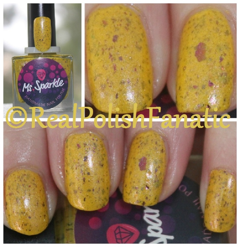 Ms. Sparkle Spring Bouquet Fantasmic Flakies