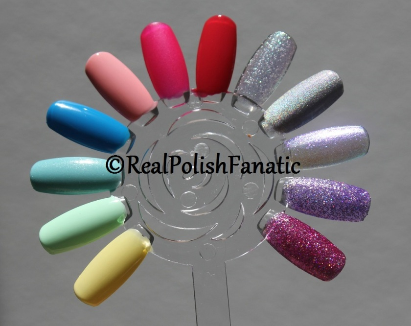 06-14-2017 China Glaze My Little Pony Collection Swatches