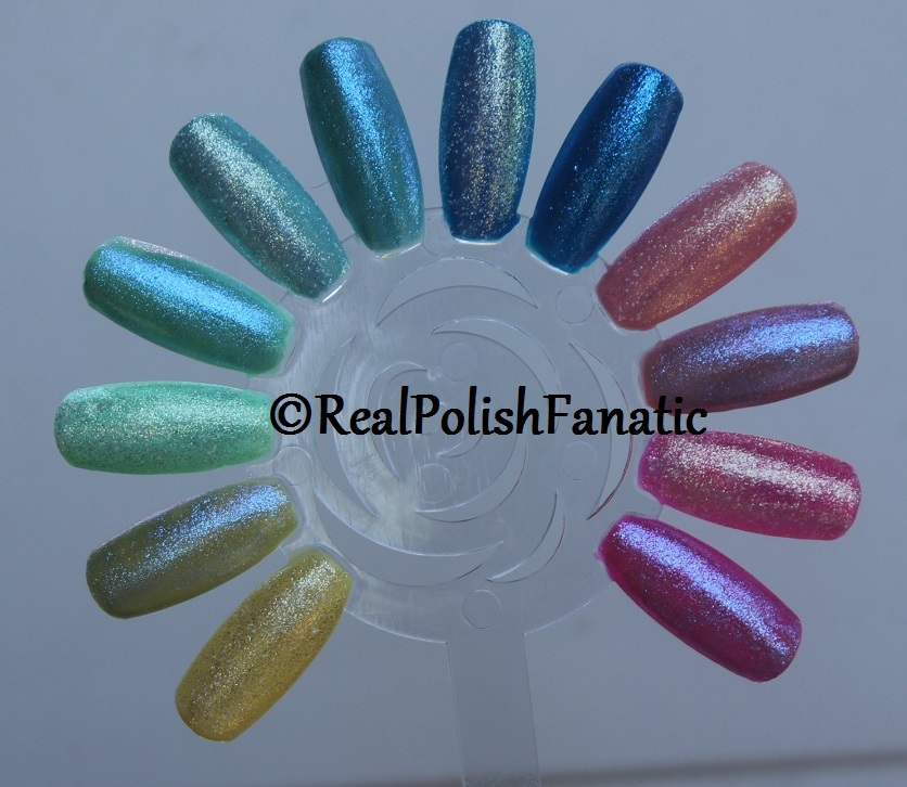 China Glaze Hay Girl Hay & Let Your Twilight Sparkle over other colors from the collection