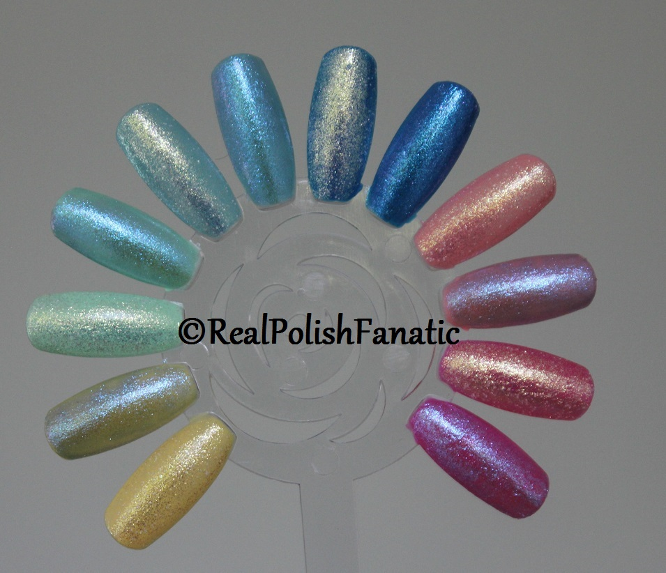 """China Glaze Color Is Magic """"My Little Pony"""" Collection // Swatches and Review Part 2 — Including Silver Holographic Comparison's"""