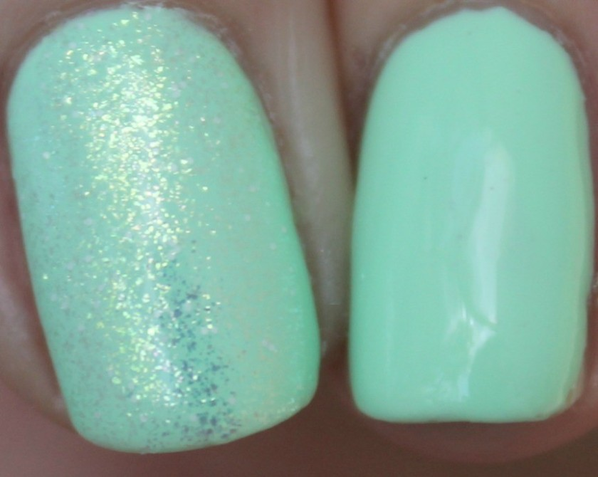 China Glaze Cutie Mark The Spot with Hay Girl Hay