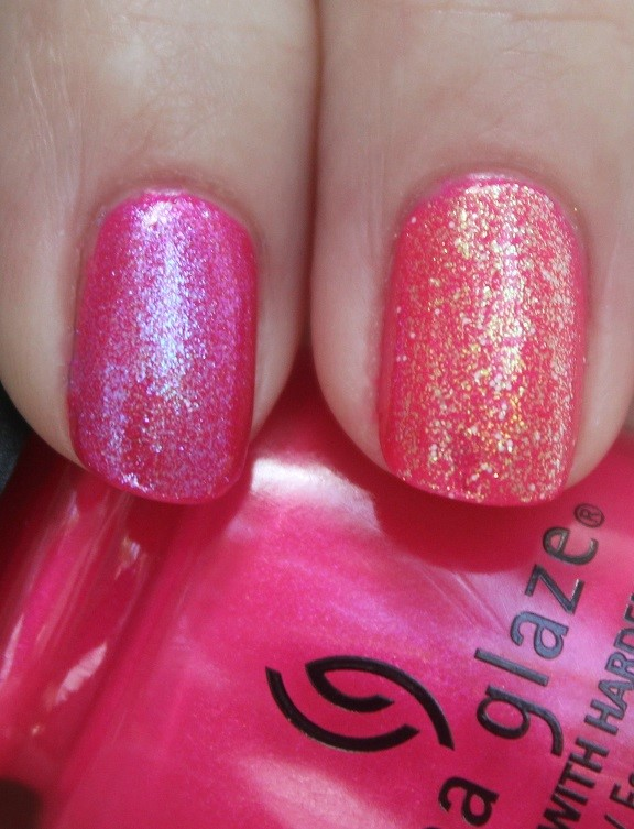 China Glaze She's A Mane-iac with Let Your Twilight Sparkle and Hay Girl Hay