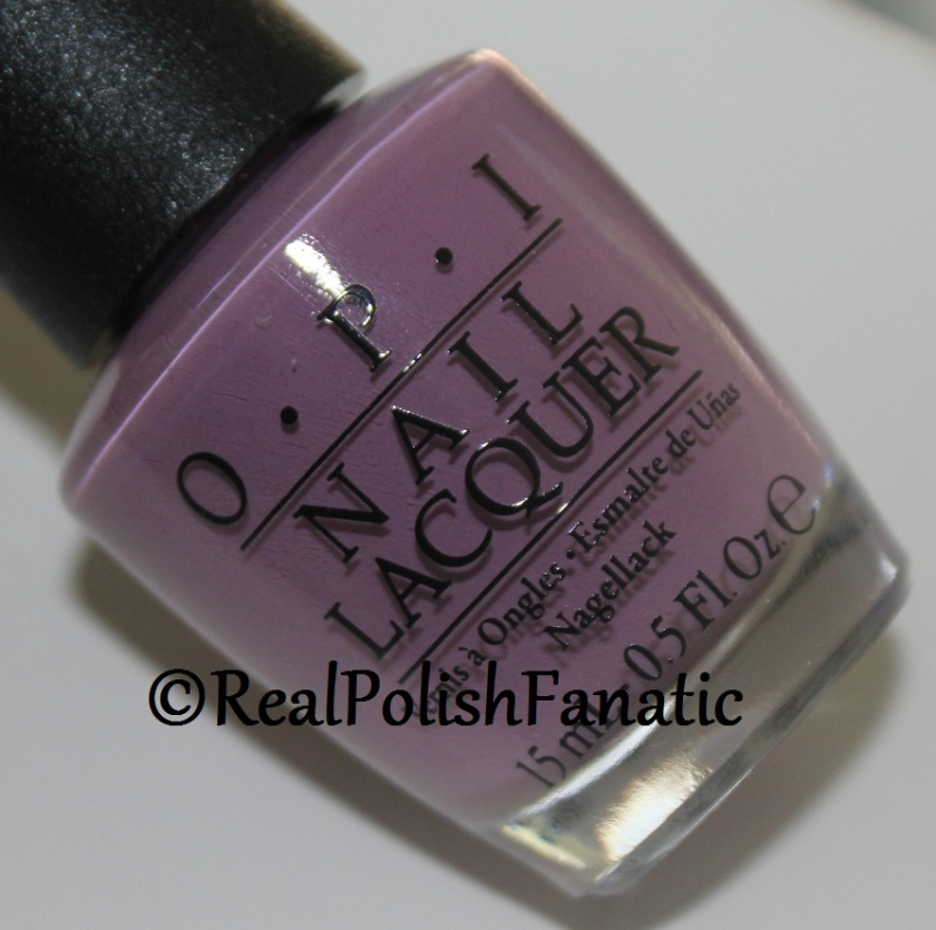 OPI Iceland Collection One Heckla Of A Color