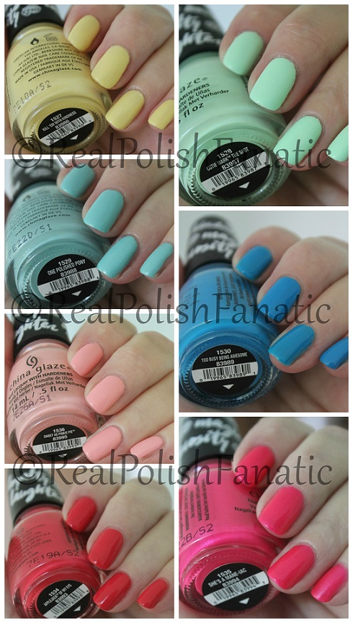 "China Glaze Color Is Magic ""My Little Pony"" Collection - Part 1"