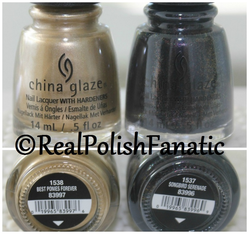 Summer 2017 China Glaze Color Is Magic My Little Pony Collector's Duo - Songbird Serenade (1)
