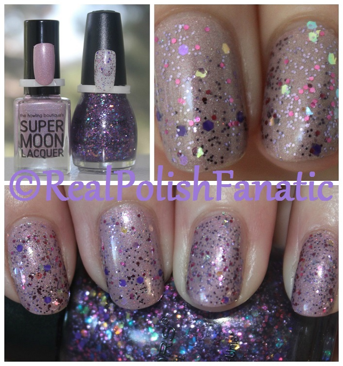 Supermoon Lacquer Eta Lupi with Sinful Colors Taste It