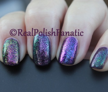 ILNP Real Magic™ Toppers – Limitless, Mile High, Moonstone, Renegade, over Blackheart Beauty Dark Purple Galaxy