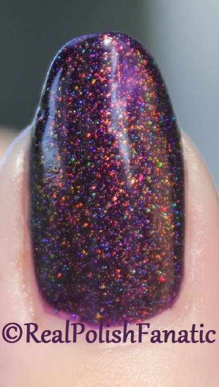 ILNP Real Magic™ Toppers – The Alchemist over Blackheart Beauty Dark Purple Galaxy