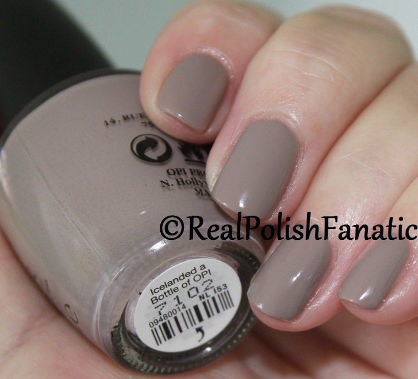 Opi Iceland Collection Fall Winter 2017 Swatches And
