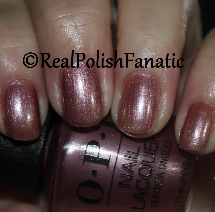 OPI Reykjavic Has All The Hot Spots - 1 coat