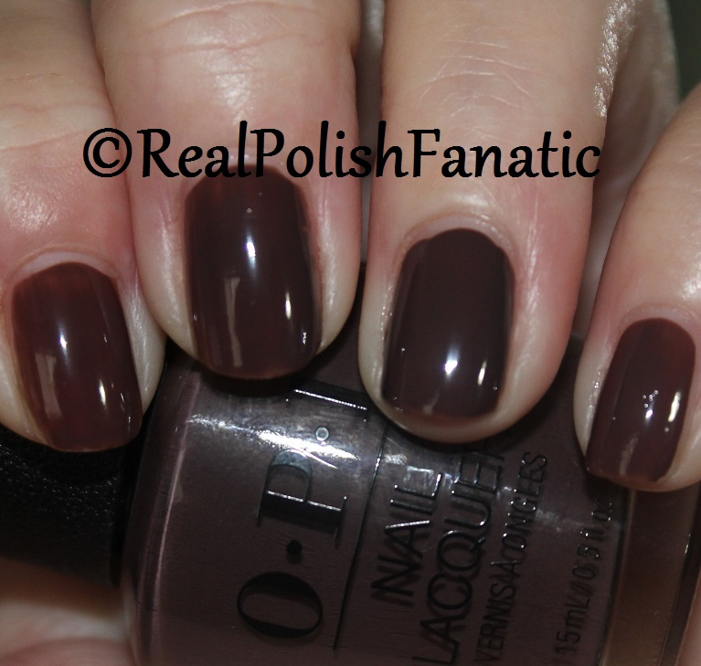 OPI That's What Friends Are Thor - 1 coat