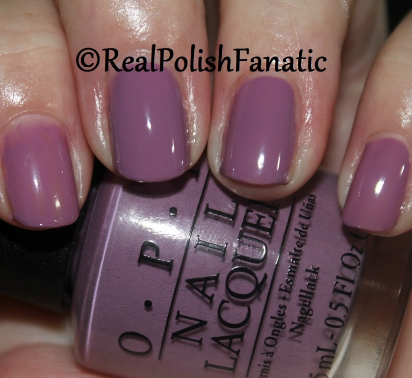 OPI One Heckla of a Color! 1 coat