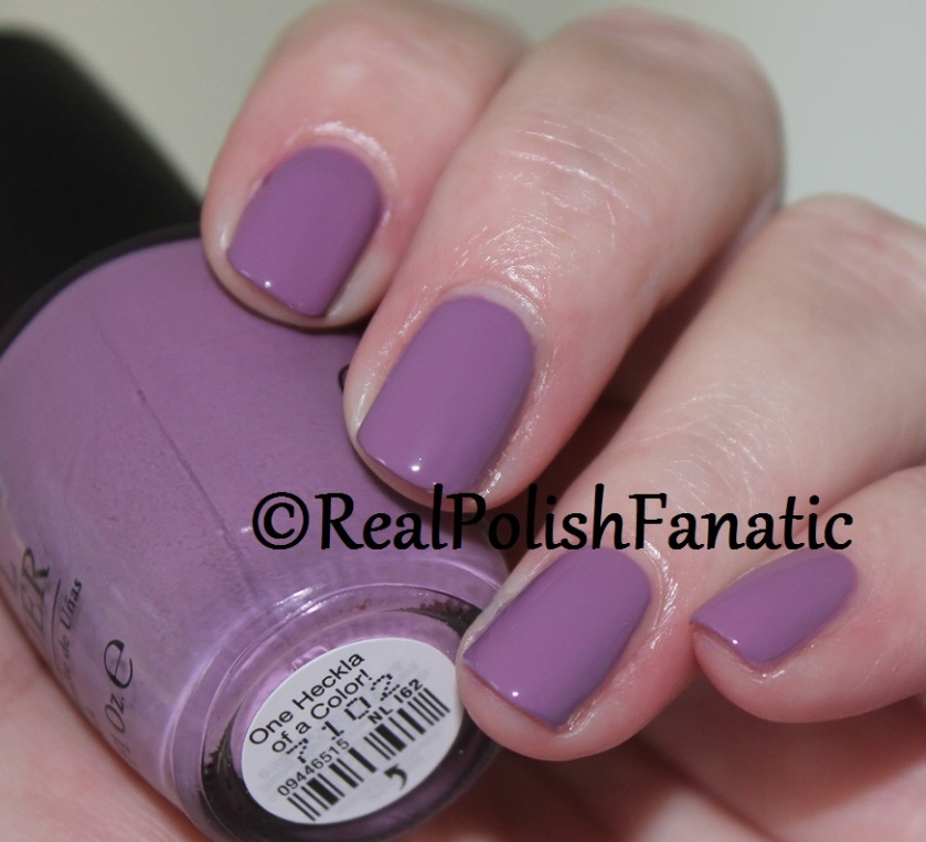 6. OPI One Heckla of a Color! (3)