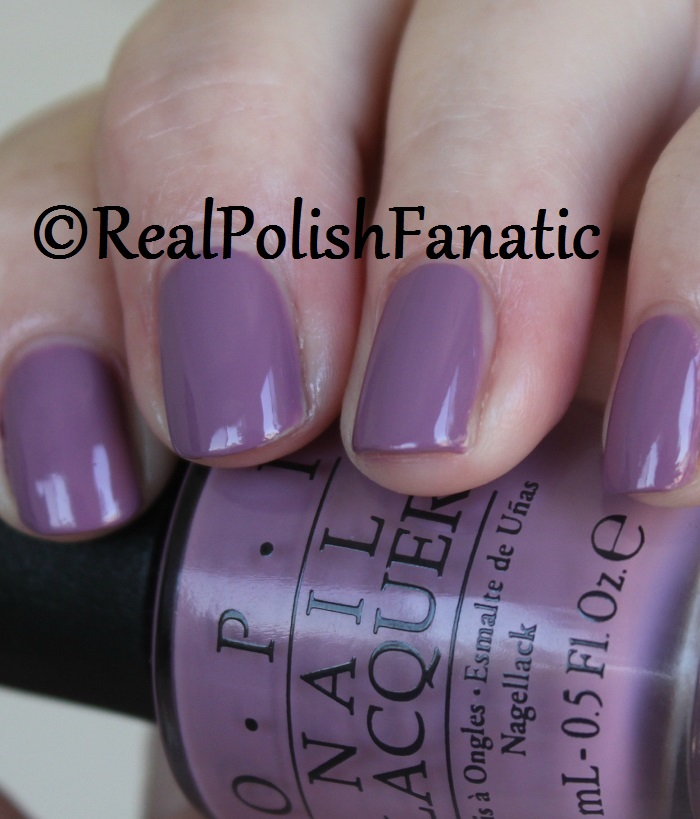 6. OPI One Heckla of a Color! (9)