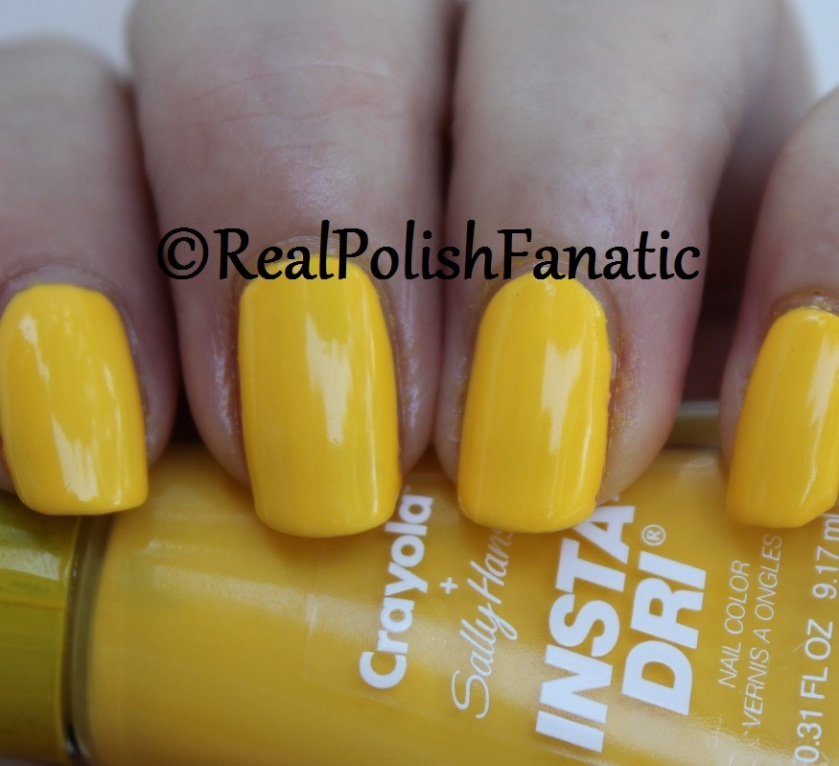 Sally Hansen - Dandelion -- Summer 2017 Crayola Collection