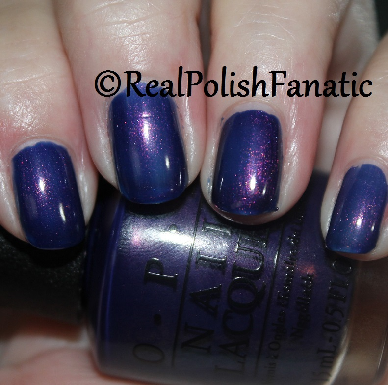 OPI Turn On The Northern Lights - 1 coat