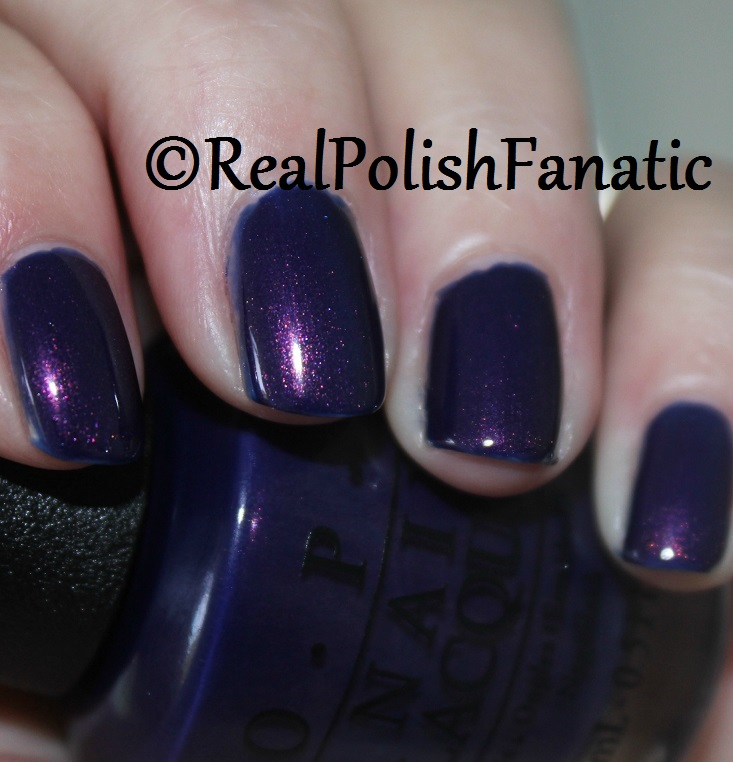 7. OPI Turn On The Northern Lights (2)