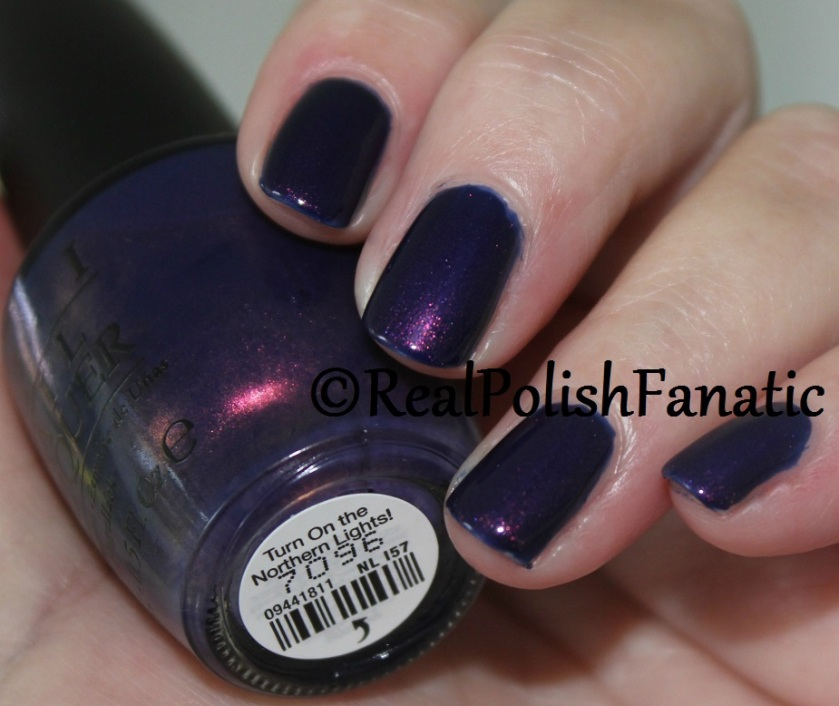 7. OPI Turn On The Northern Lights (3)