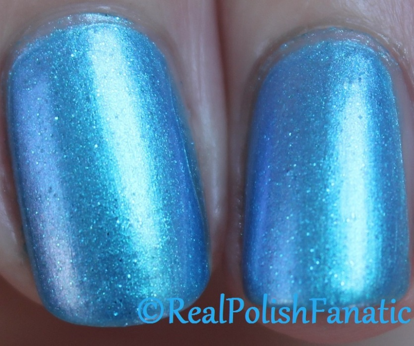 Blackheart Beauty - Blue Iridescent
