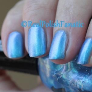 Blackheart Beauty - Blue Iridescent