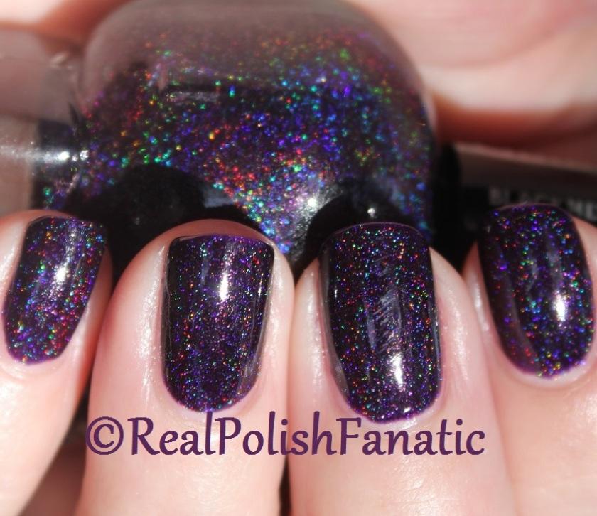 Blackheart Beauty Dark Purple Galaxy