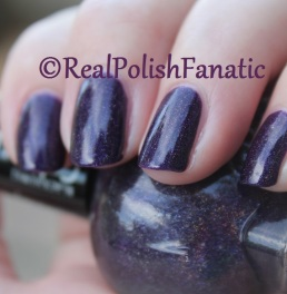 Blackheart Beauty - Dark Purple Galaxy