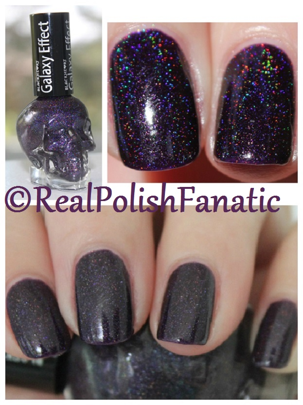 Blackheart Beauty Dark Purple Galaxy