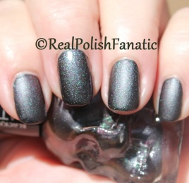 Blackheart Beauty - PRP-GRN Shimmer Satin Matte