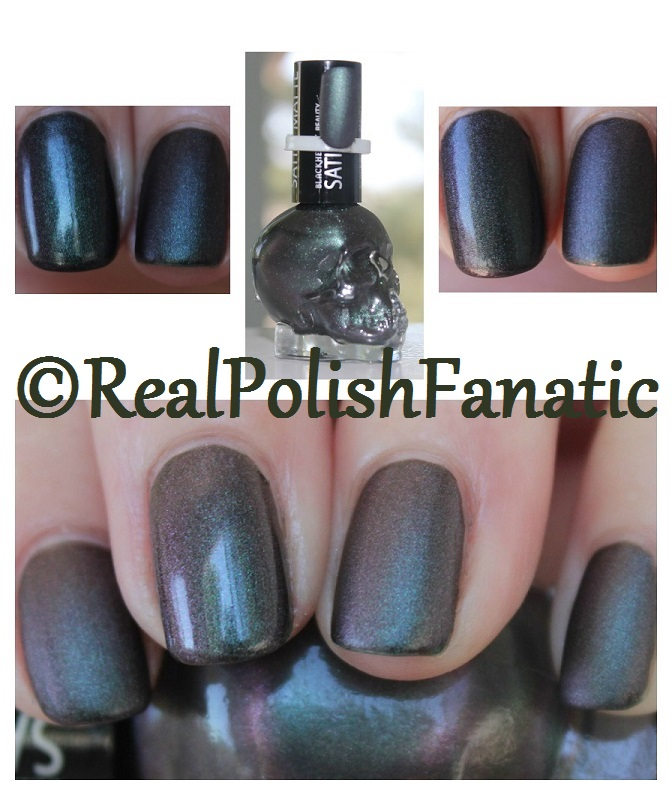 Blackheart Beauty PRP-GRN Shimmer Satin Matte