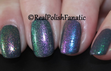 ILNP Real Magic™ Toppers – Limitless, Mile High, Moonstone, Renegade, The Alchemist over Blackheart Beauty Grey Iridescent