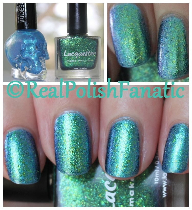 Lacquester Pornflakes Topcoat Northern Lights over Blackheart Beauty ...