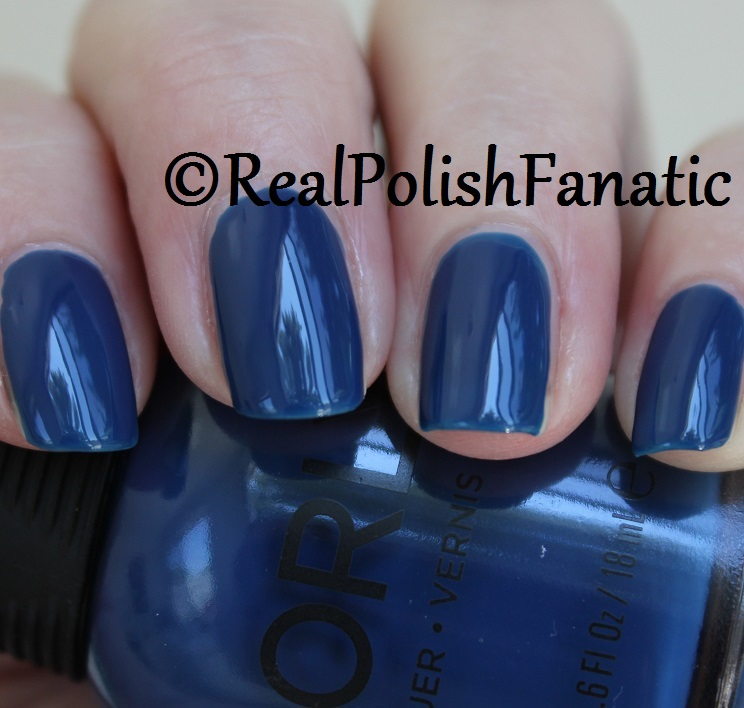 Orly Blue Suede -- Fall 2017 Velvet Dream Collection