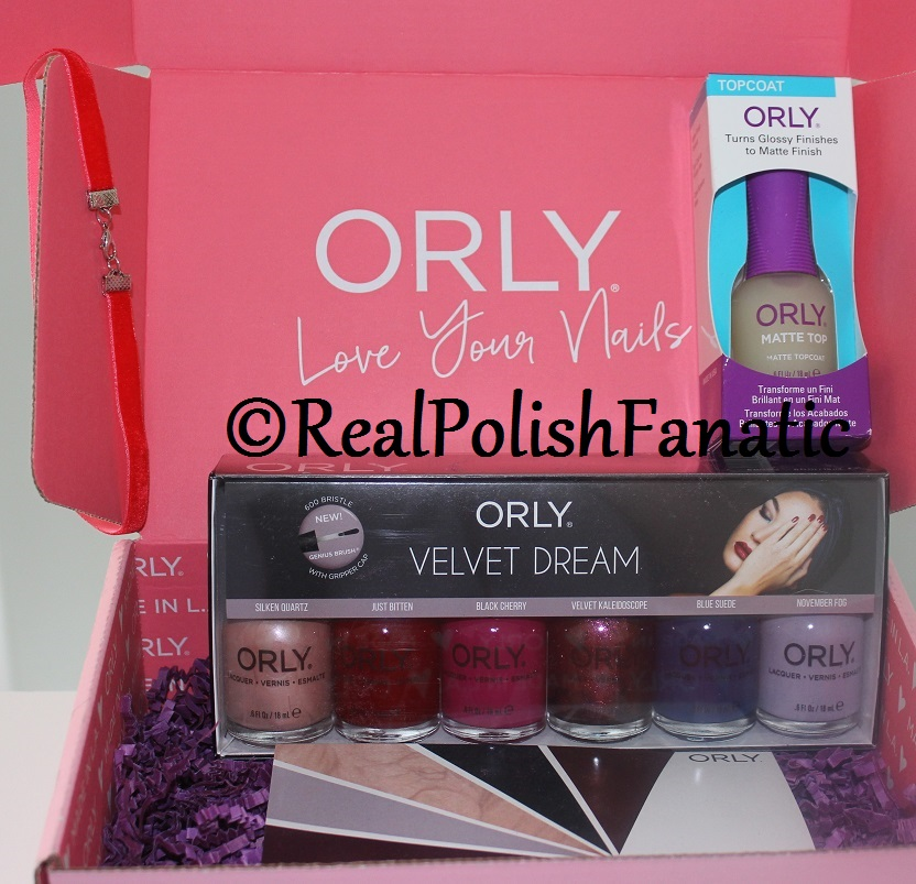 Orly Color Pass - Fall 2017 Velvet Dream