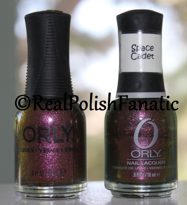 Orly Velvet Kaleidoscope -- Fall 2017 Velvet Dream Collection with Space Cadet Comparison