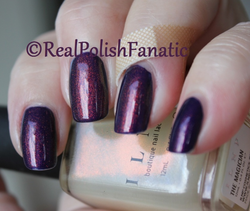 China Glaze Crown For Whatever and ILNP The Magician (4)