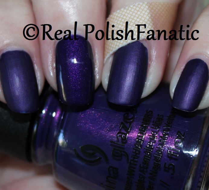 China Glaze Crown For Whatever -- Happily Never After 2017 Halloween Collection (1)