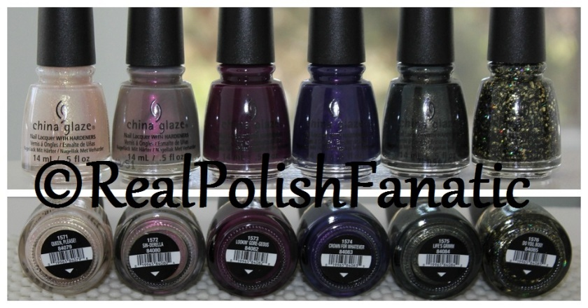 China Glaze Halloween 2017 Happily Never After Collection